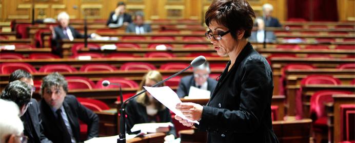 Nicole Bonnefoy au Sénat