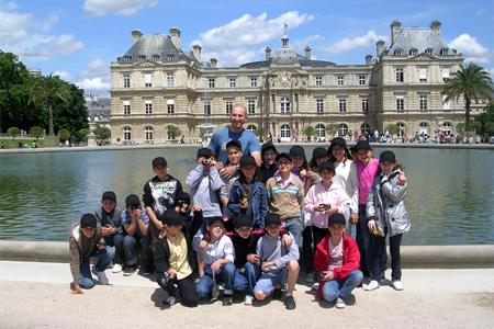 Visite du Sénat avec les élèves d'Aunac