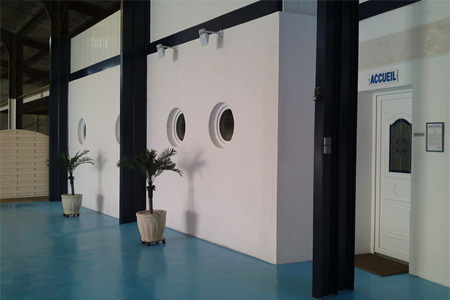 Accueil de l'Espace Balnéo à Villefagnan