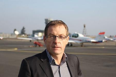 Laurent Blattner est un patron heureux. CATS, l'entreprise qu'il dirige va embaucher 50 personnes. Photo: F. B.