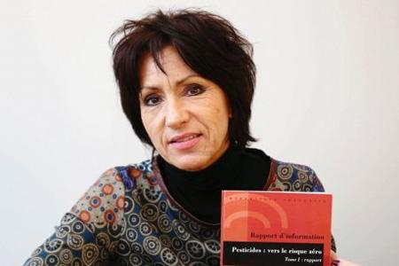 La sénatrice Nicole Bonnefoy, rapporteuse de la mission sur les pesticides et la santé. Photo : T. Kluba