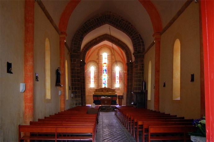 Inauguration de l'église Notre Dame de Chabrac. Photo : N. Bonnefoy