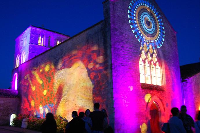 Festival Les Nuits Romanes à Saint Amant de Bonnieure. Photo : N. Bonnefoy