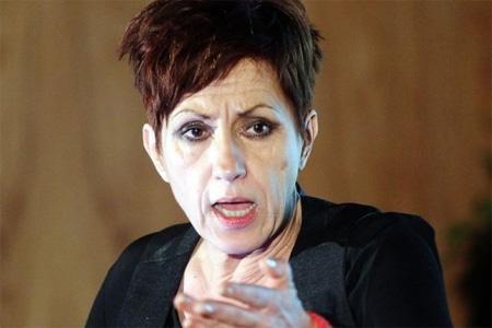 Nicole Bonnefoy dénonce l'attitude de l'opposition et de la CCI. Photo : M. Bouzzit
