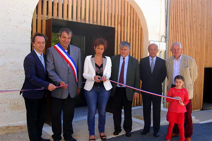 Inauguration de la salle des fêtes de Salles Lavalette. Photo : N. Bonnefoy