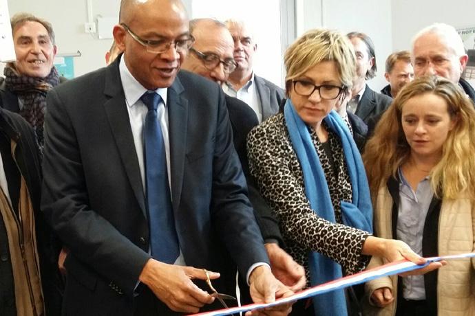 Inauguration de la Maison de services au public à Blanzac Porcheresse. Photo : N. Bonnefoy