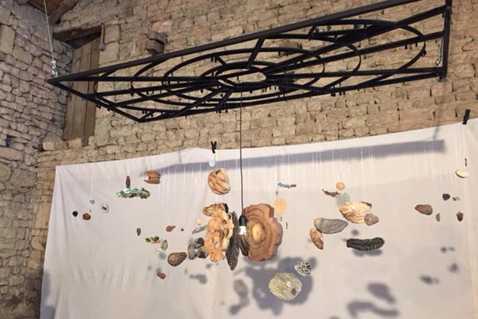 Résidence d'artistes 2017 à Bréville. Photo : N. Bonnefoy