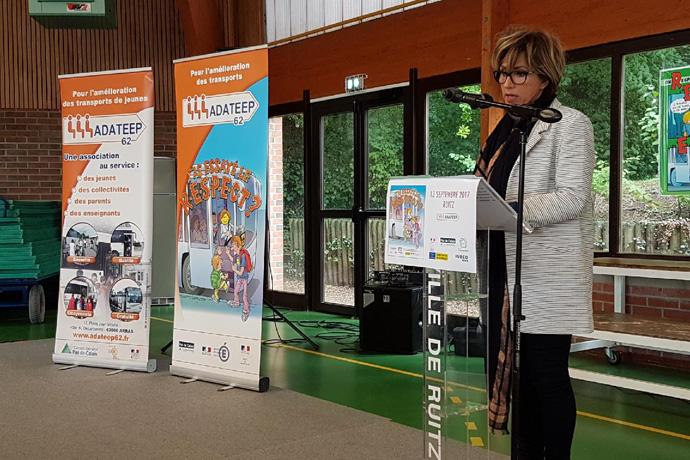 """31e campagne annuelle d'éducation à la sécurité et à la citoyenneté """"Transport Attitude""""."""