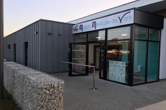 Inauguration de la maison de santé de Vars. Photo : N. Bonnefoy
