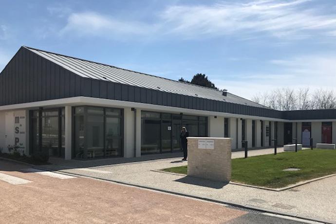 Inauguration de la maison de santé pluridisciplinaire à Aunac sur Charente. Photo : N. Bonnefoy