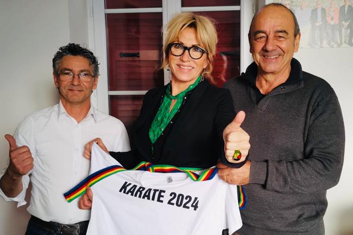 Pour l'intégration du Karaté au programme des JO de Paris en 2024