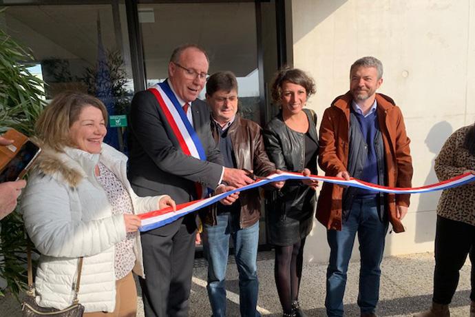 Maison de santé pluridisciplinaire de Jarnac. Photo : N. Bonnefoy