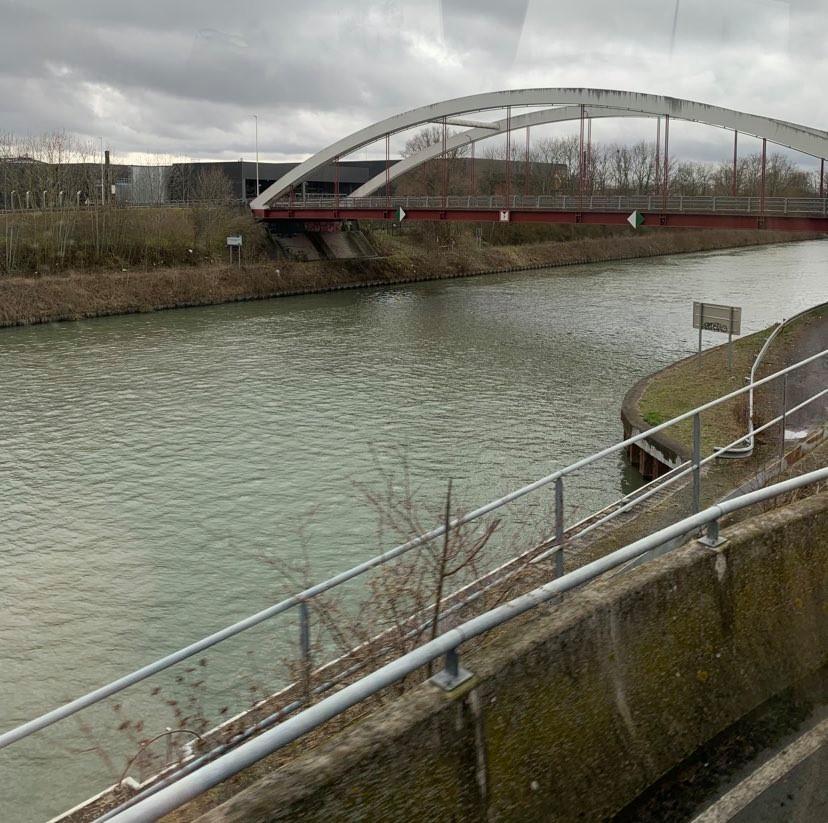 Visite du chantier de construction du Canal Seine-Nord Europe