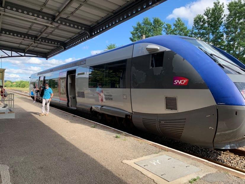 Courrier à M. le Ministre chargé des transports - Réduction du nombre de TGV sur l'axe Atlantique